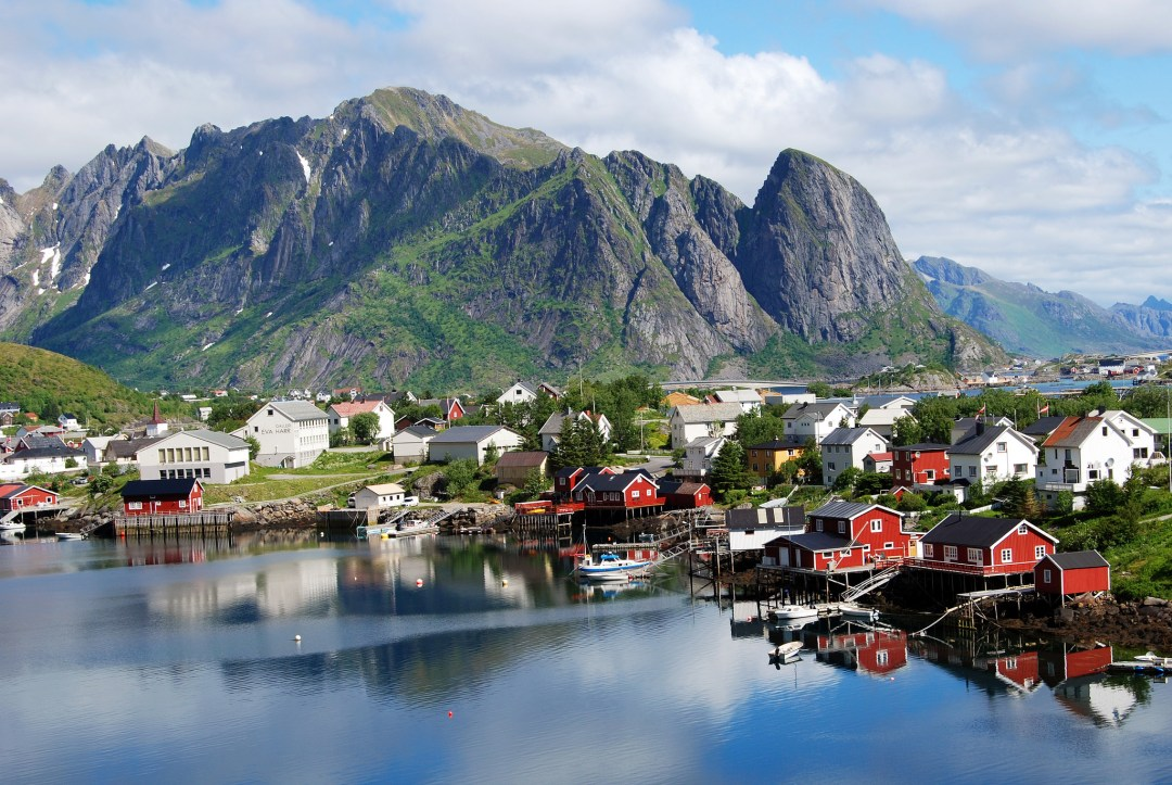 Reine village norway