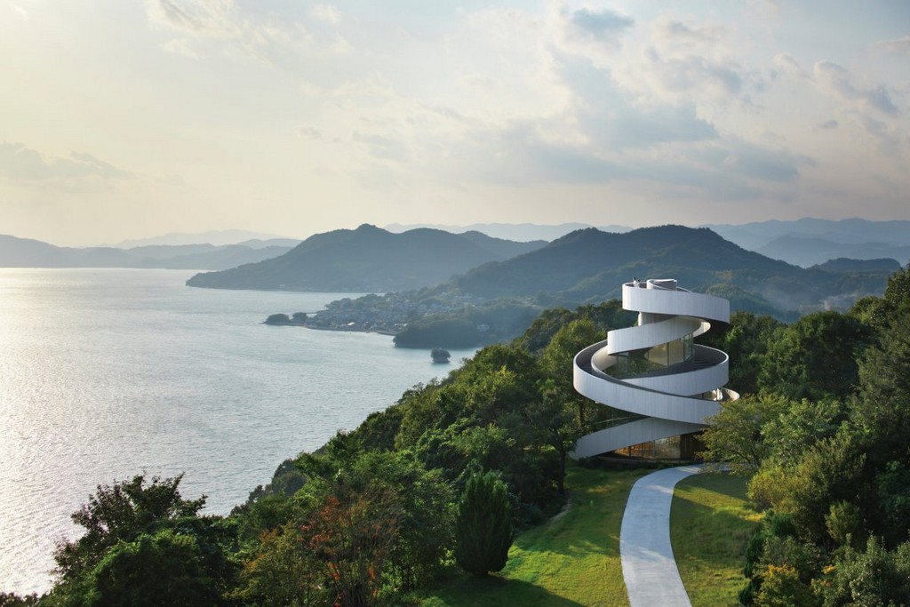 Ribbon Chapel, onomichi, japan, architectural masterpieces