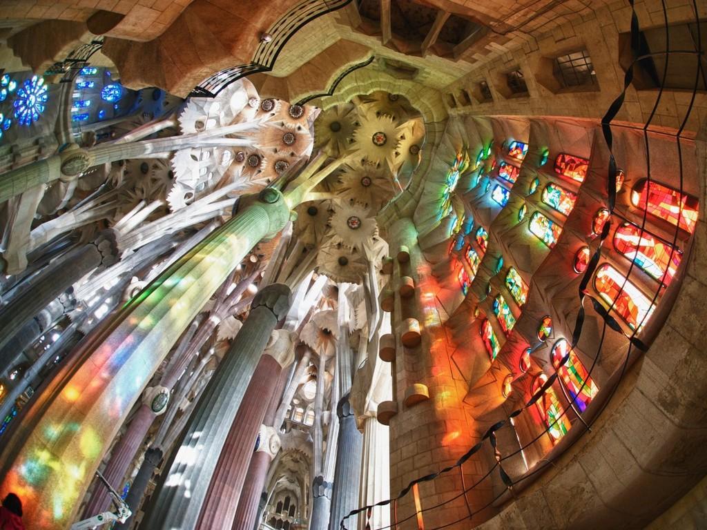 Sagrada Família, architectural masterpieces