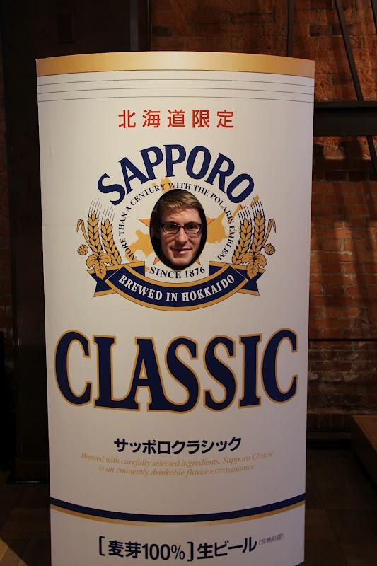 Sapporo beer posters, Sapporo Beer Museum, Sapporo, Hokkaido, japan