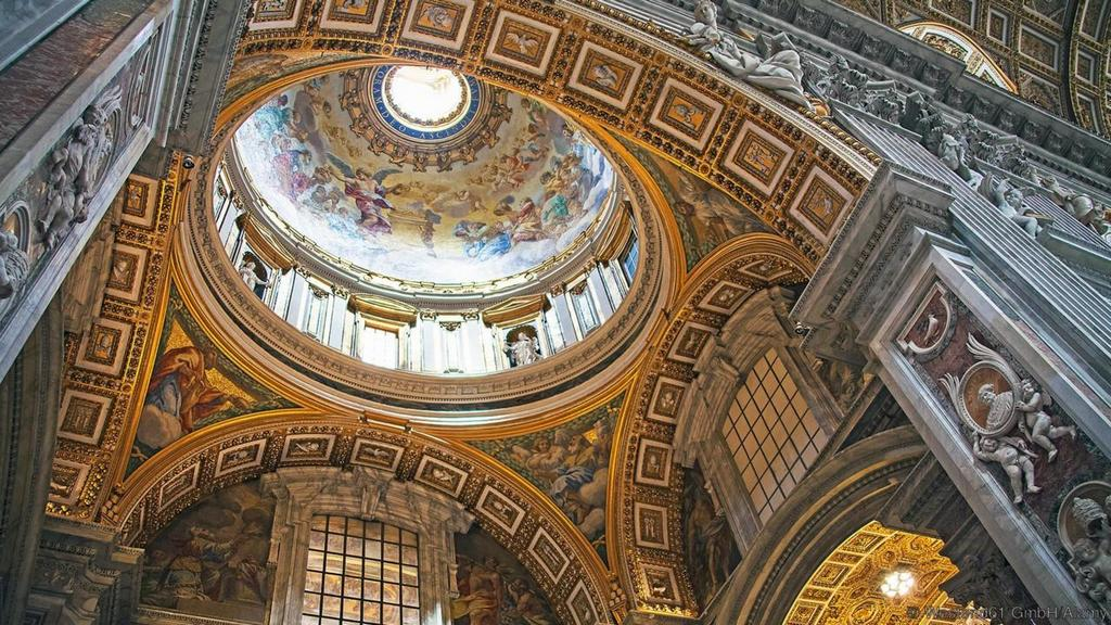 St Peter's Basilica vatican most beautiful palces of worship around the world