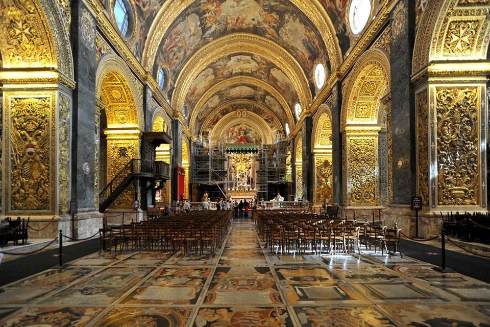 St. John church Valletta capital