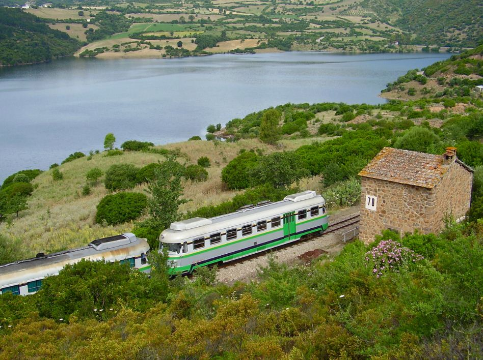 TRENINO VERDE DELLA SARDEGNA train, ITALY