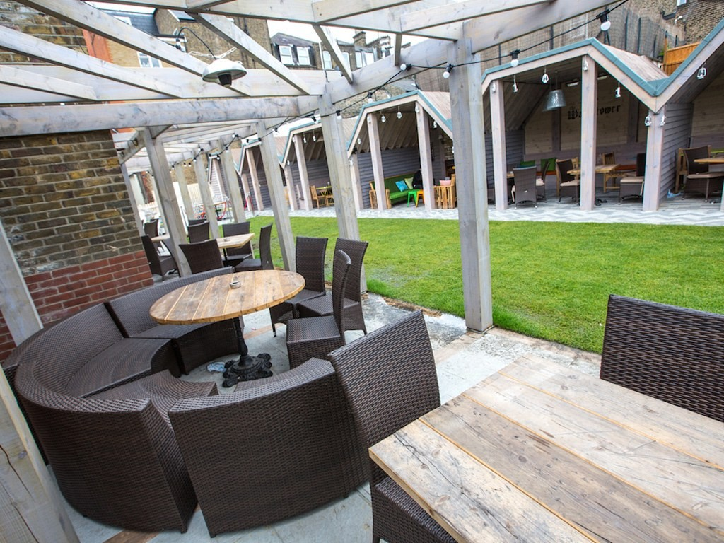The Castle, coolest beer gardens