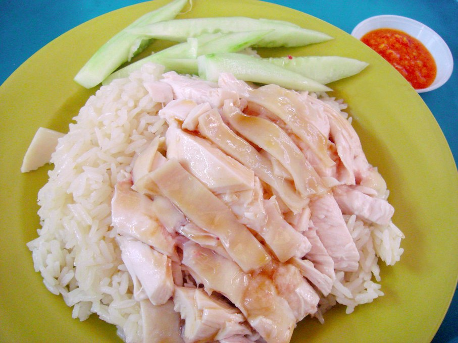 Tian Tian Hainanese Chicken Rice places to eat Singapore