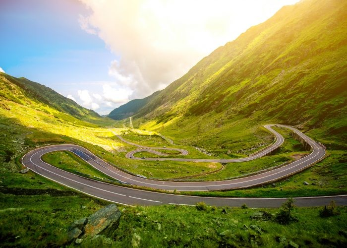 Transfagarasan Mountain Road Highway, Romania, Europe road trips