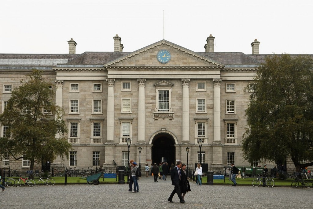 Trinity College in Dublin architectural masterpieces