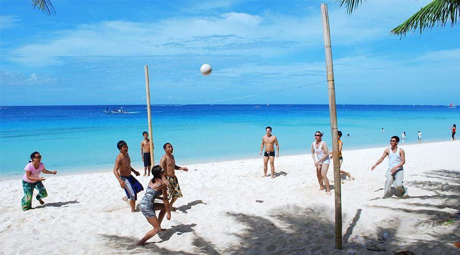 beach-football-boracay things to do