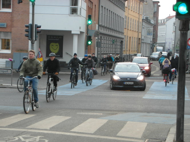 bike lanes Aarhus danmark European Capital of Culture 2017