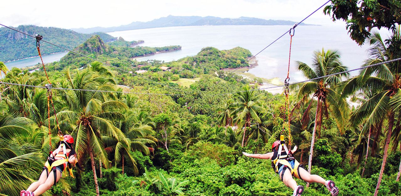 boracay-zipline things to do Credit image: best islands in southeast asia blog.