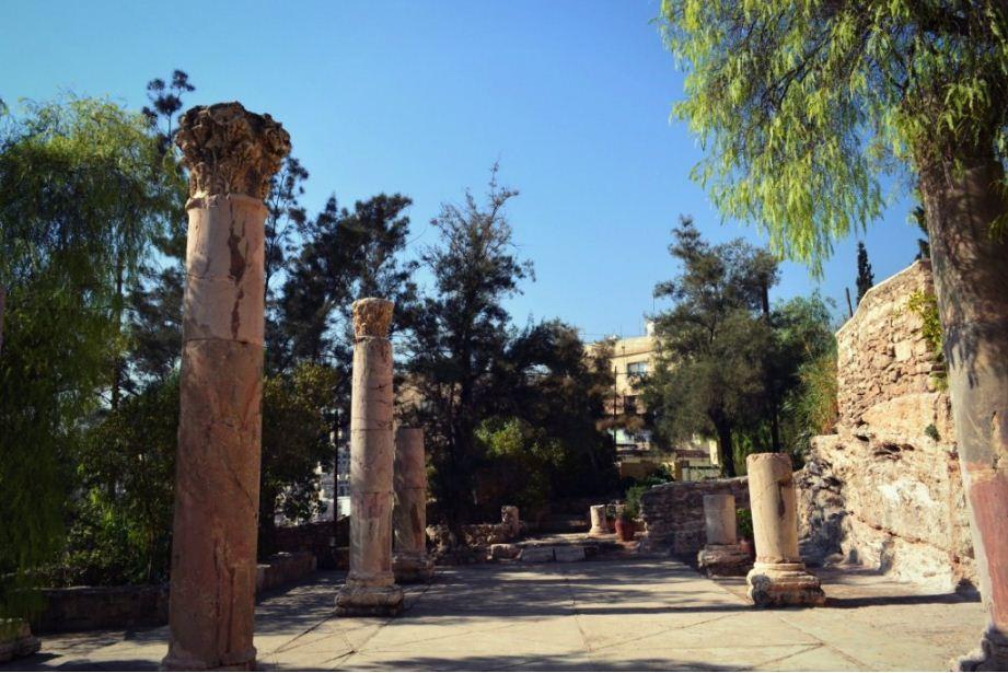 darat-al-funun amman cafe jordan 3