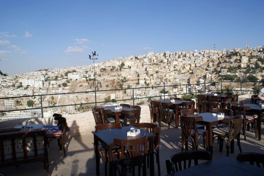darat-al-funun amman cafe jordan