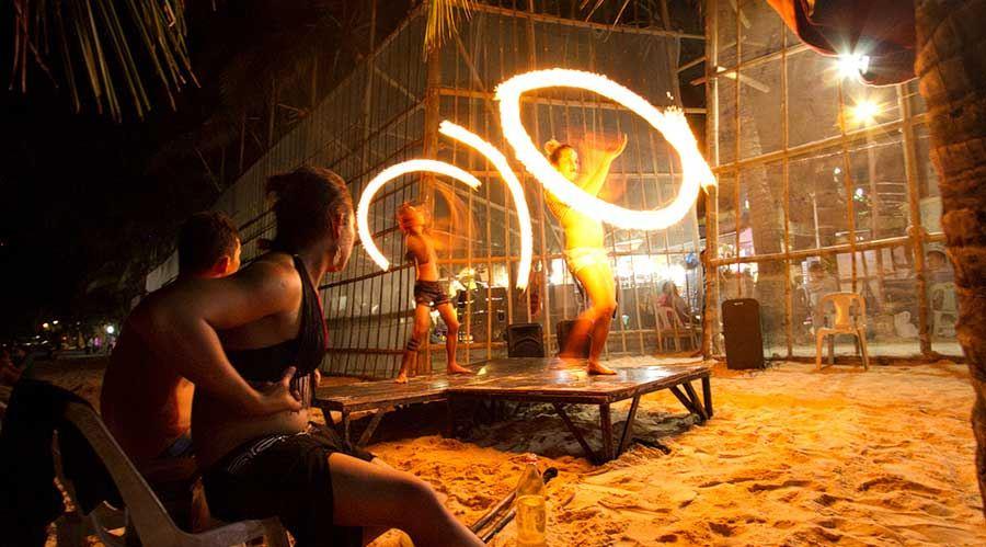 fire-dance-boracay things to do
