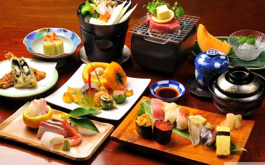 food, tokyo, japan