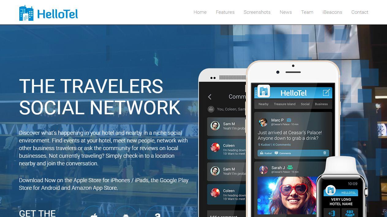 hellotel app website