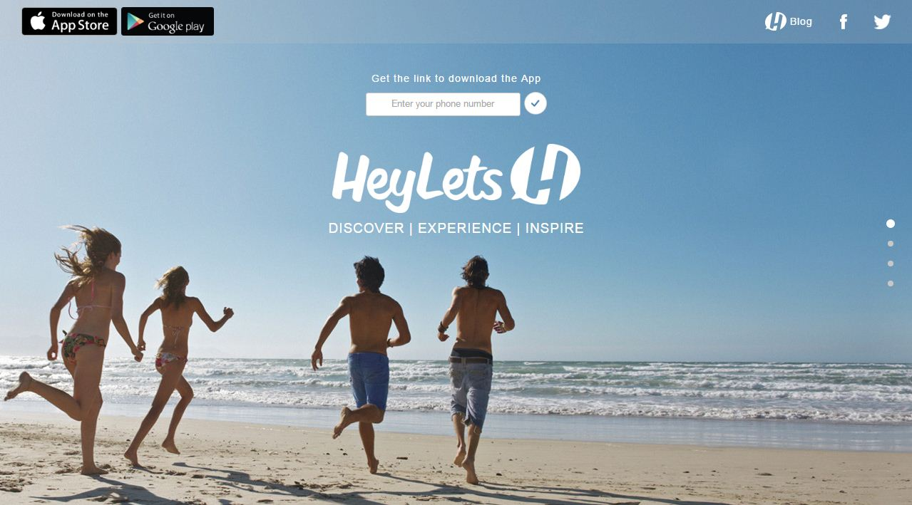 heylets website app