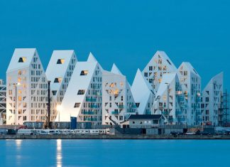 iceberg quarter aarhus danmark European Capital of Culture 2017