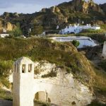Living in the charms of cave houses in Andalucia, Southern Spain
