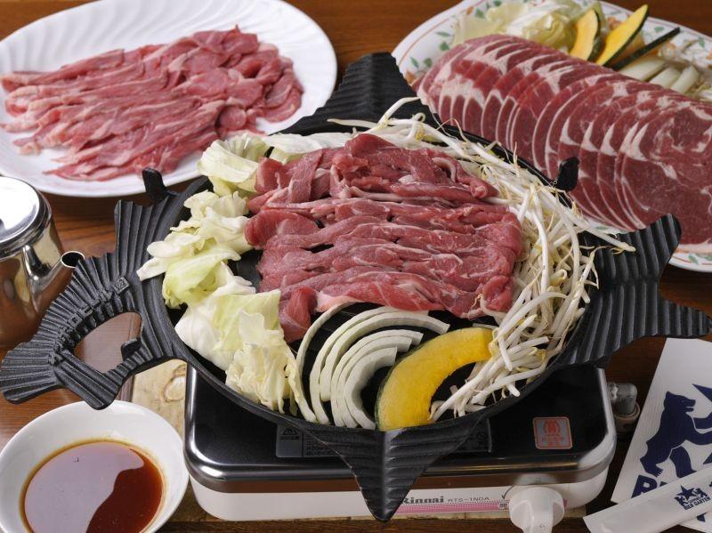 mutton bbq, speciality, Hokkaido, japan