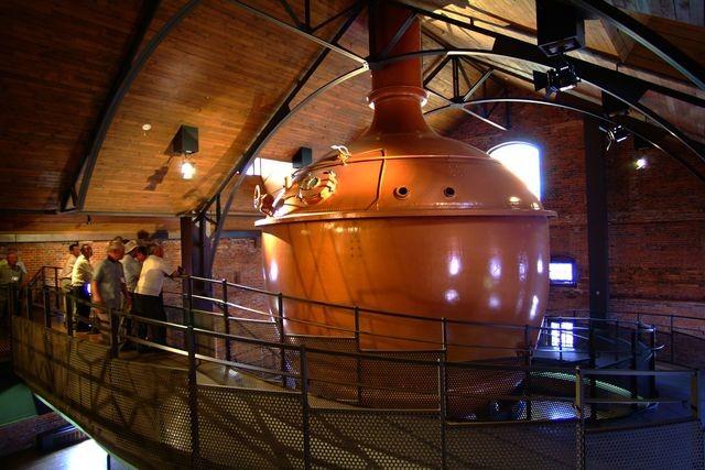 process beer brewing, Sapporo Beer Museum, Hokkaido, japan
