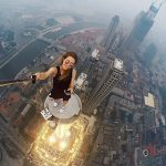 This Russian girl takes selfies from terrifying heights