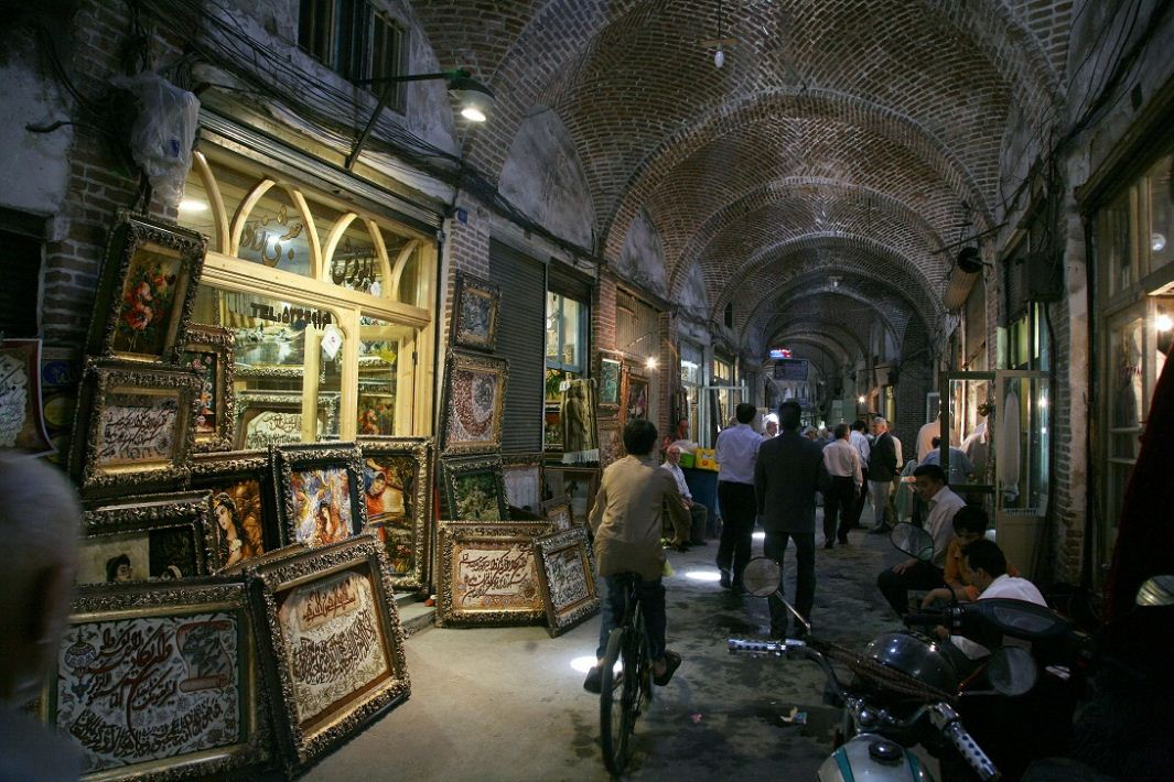 tabriz complex market tourist attractions