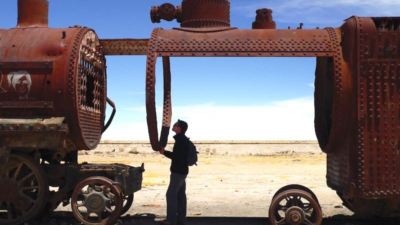 train_wreck, Travel guide, Salar de Uyuni, Bolivia