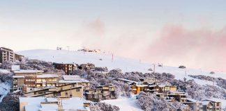 snow melbourn city winter australia 2