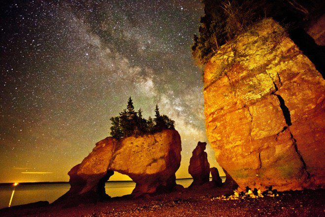 Bay of Fundy, New Brunswick canada