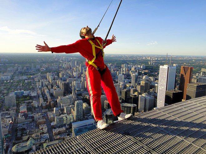 CN Tower Toronto observation deck