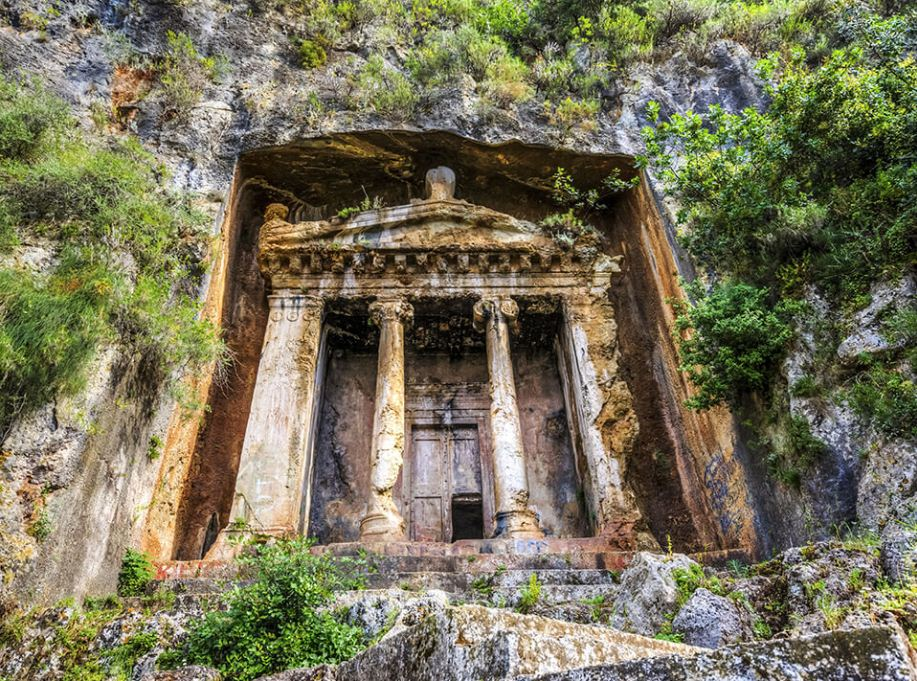 lycian tomb greece