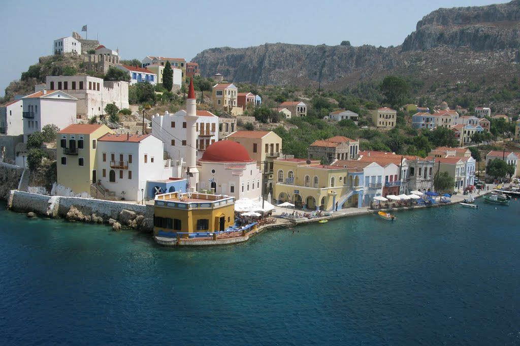 Mandraki harbor area, a new attraction in Kastellorizo. Photo: wp