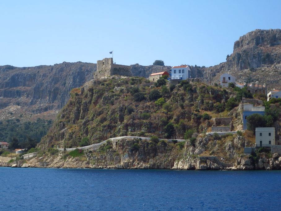 The panorama view of ruins of castle of St. John's Knights. Photo: blogspot