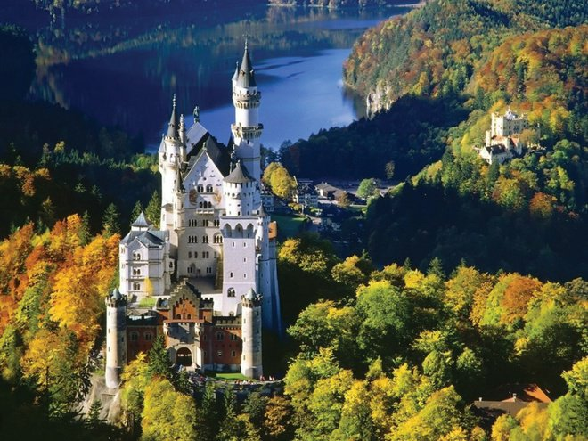bavaria germany autumn travel attractions