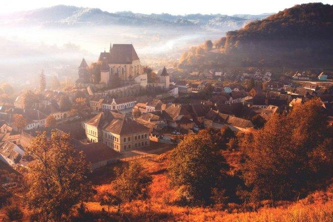 biertan transylvania romani autumn castles