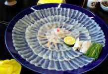 Fugu (pufferfish), Obama City kobe beef kansai region cuisine japan 2