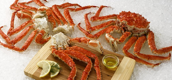Red King crabs, Osaka kobe beef kansai region cuisine japan 1
