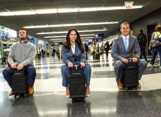Modobags-Suitcase-move by itself-travel tip