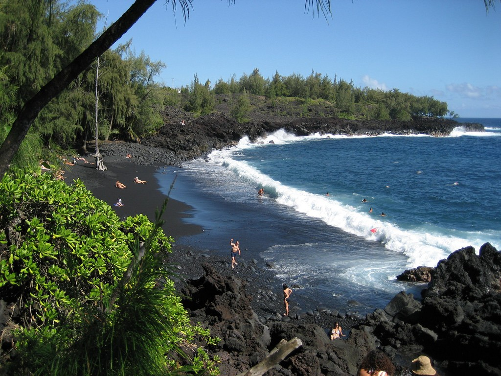 top nude beaches Kehena beach, Hawaii