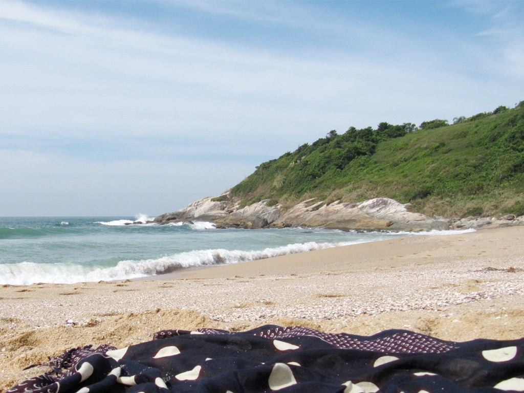top nude beaches Praia do Pinho, Brazil