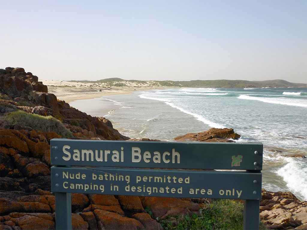 Samurai Beach, Australia top nude beaches