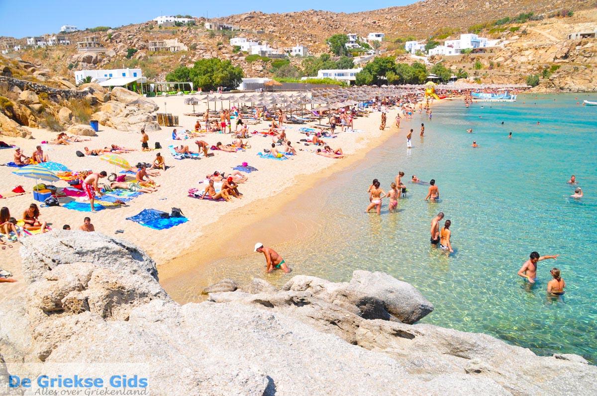 Paradise beach in Mykonos Greece 2