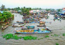 nga nam floating market soc trang mekong delta destinations