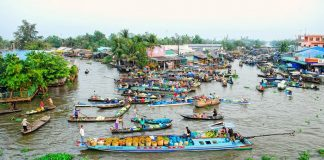 nga nam floating market soc trang mekong delta destinations