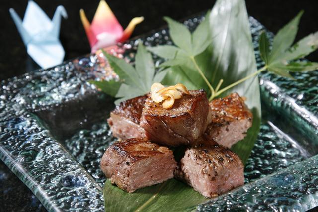Kobe wagyu teppanyaki