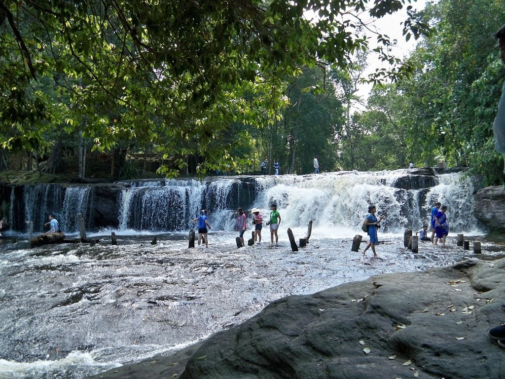 phnom kulen national park cambodia Photo by: siem reap tourist places blog.