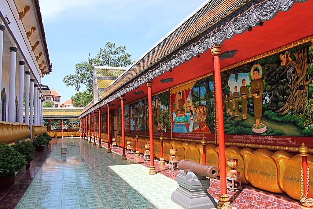 Wat Damnak Pagoda siem reap