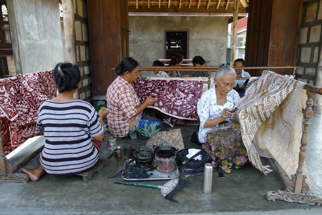 the art of batik yogyakarta