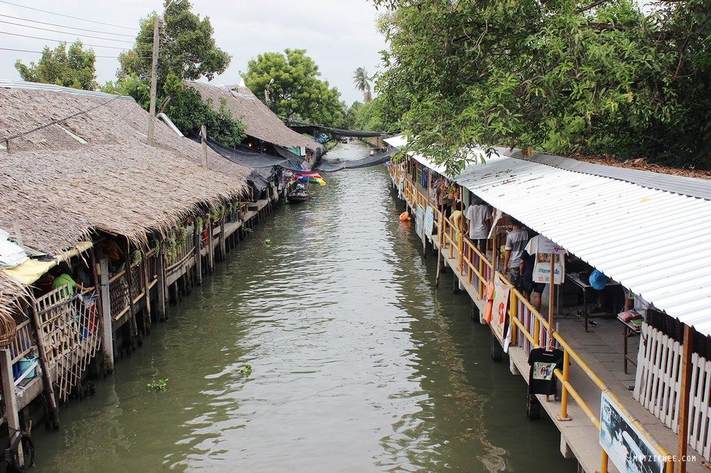 Top 5 stunning floating markets near Bangkok, Thailand