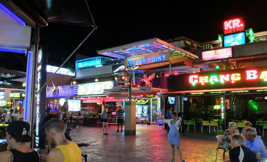 krabi thailand nighlife